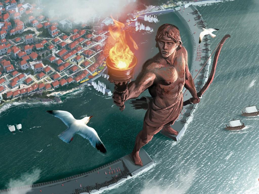 Coloso de Rodas 1024x770 Las 7 Maravillas del Mundo Antiguo: legado de la humanidad