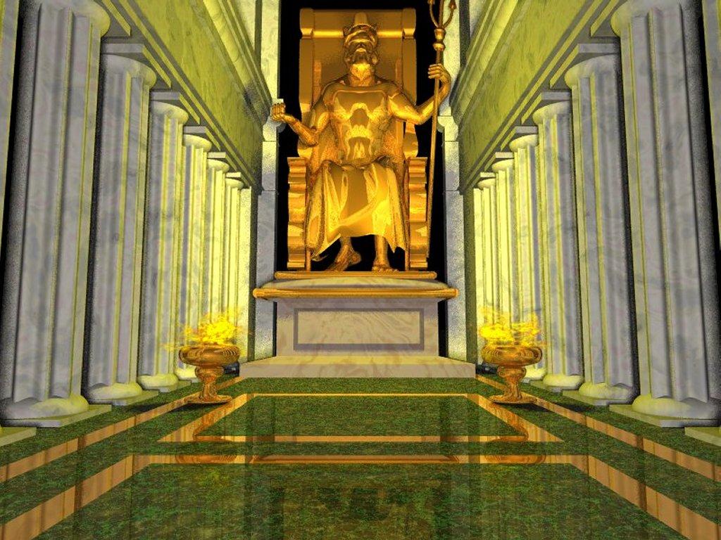 Estatua de Zeus en Olimpia Las 7 Maravillas del Mundo Antiguo: legado de la humanidad
