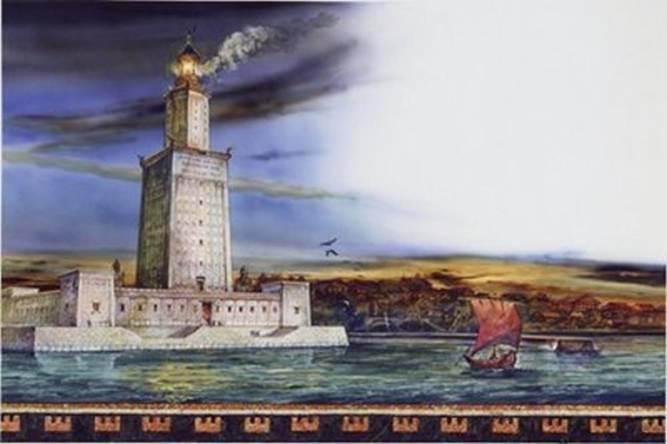Faro de Alejandria Las 7 Maravillas del Mundo Antiguo: legado de la humanidad