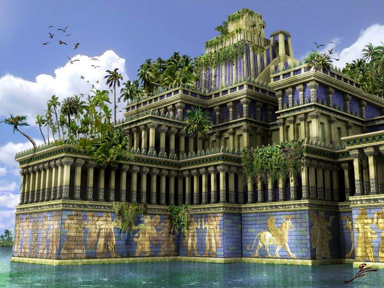 Jardines Colgantes de Babilonia Las 7 Maravillas del Mundo Antiguo: legado de la humanidad
