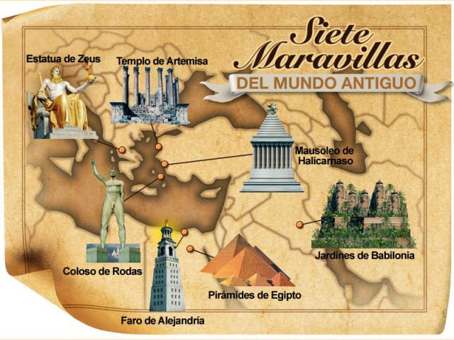 Las 7 Maravillas del Mundo Antiguo Las 7 Maravillas del Mundo Antiguo: legado de la humanidad