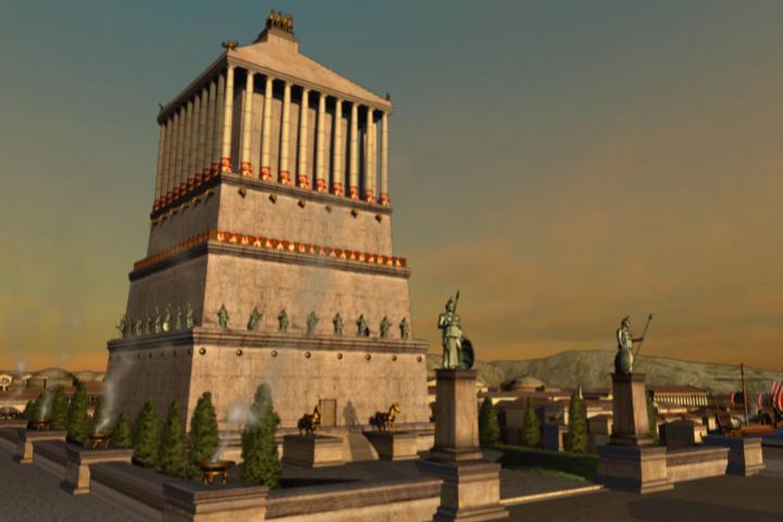 Mausoleo Halicarnaso Las 7 Maravillas del Mundo Antiguo: legado de la humanidad
