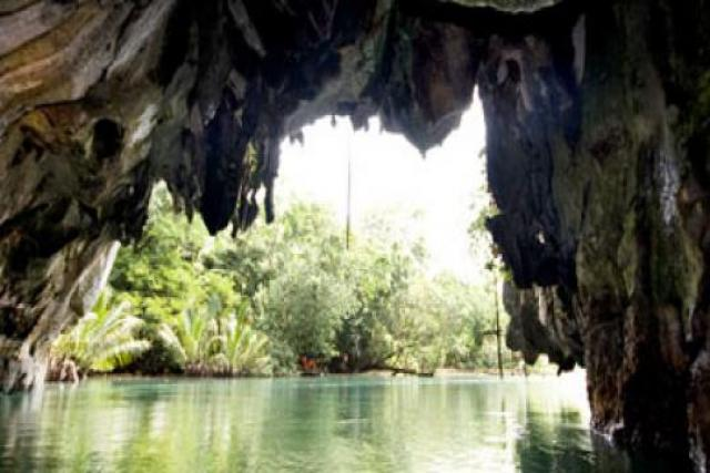 Rio subterráneo de Puerto Princesa Ecoturismo: Las 7 Maravillas Naturales del Mundo