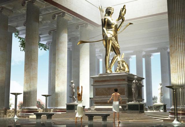 Templo Artemisia en Efeso1 Las 7 Maravillas del Mundo Antiguo: legado de la humanidad