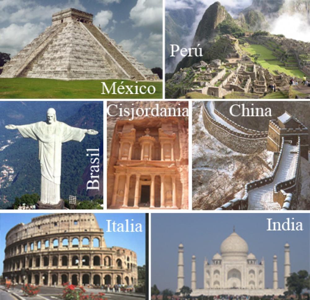 7 Maravillas del Mundo Moderno2 Conoce las 7 Maravillas del Mundo Moderno