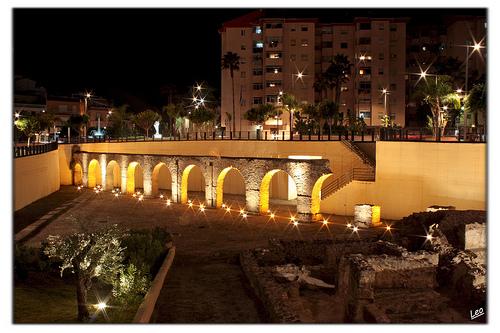 Acueducto de Almuñécar Almuñécar, la joya de la Costa Tropical granadina