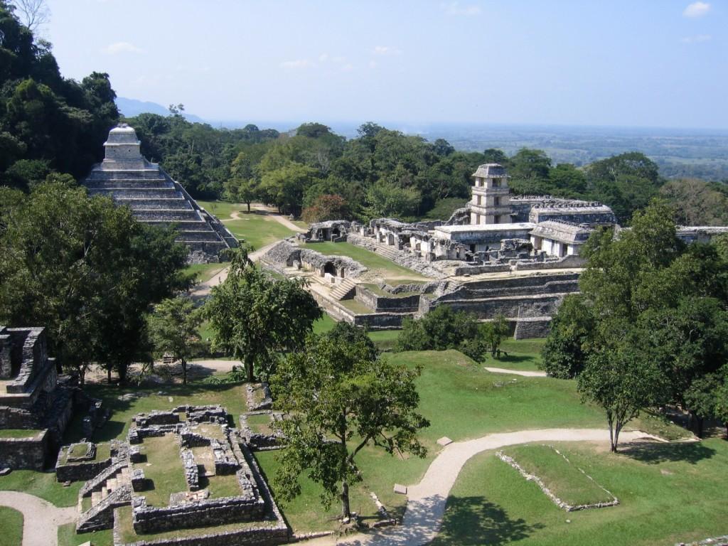 Kukulcan Pyramid Chichen Itza Mexico 1024x768 Conoce las 7 Maravillas del Mundo Moderno