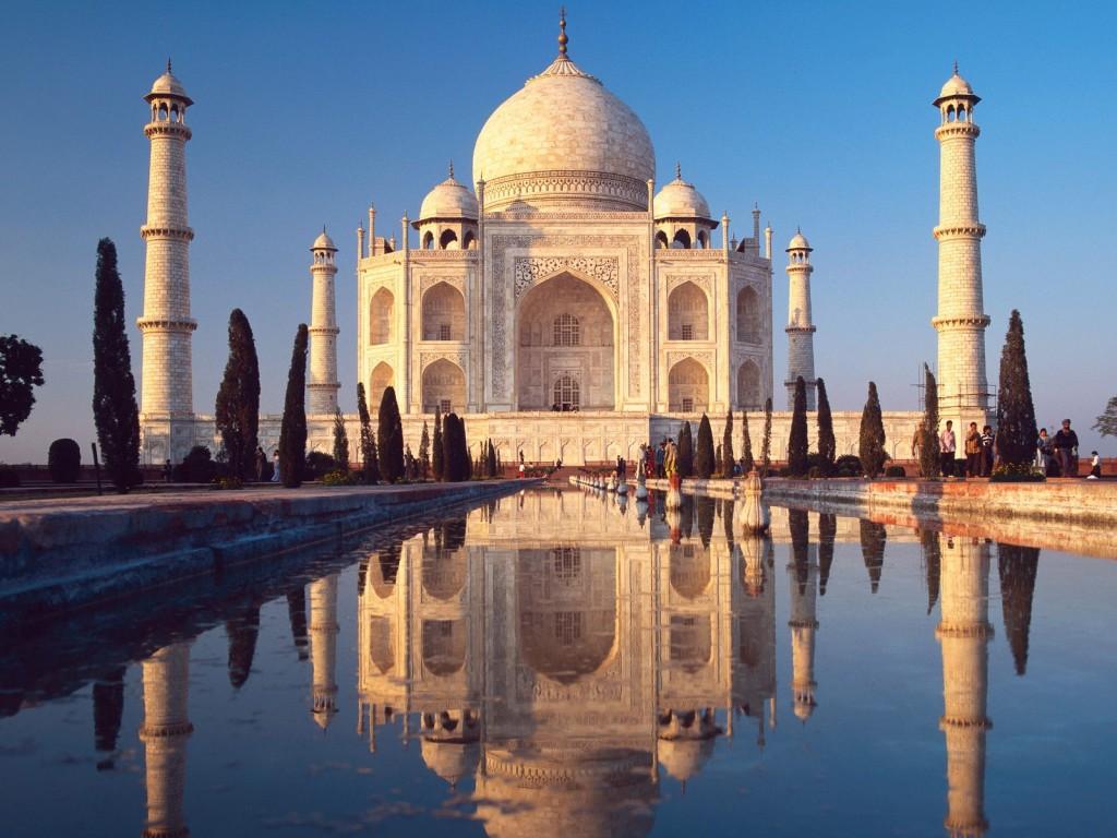 taj mahal agra india 1024x768 Conoce las 7 Maravillas del Mundo Moderno
