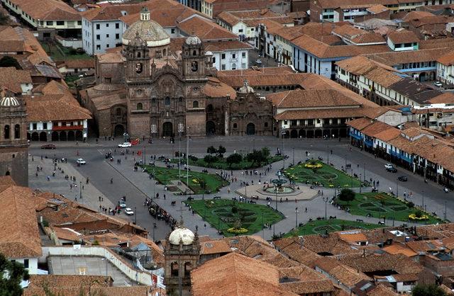 Plaza de Armas del Cuzco  Viajar a Machu Picchu: recomendaciones que debes tener en cuenta