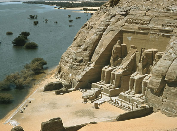 templo abu simbel Conoce Egipto: la cuna de las civilizaciones