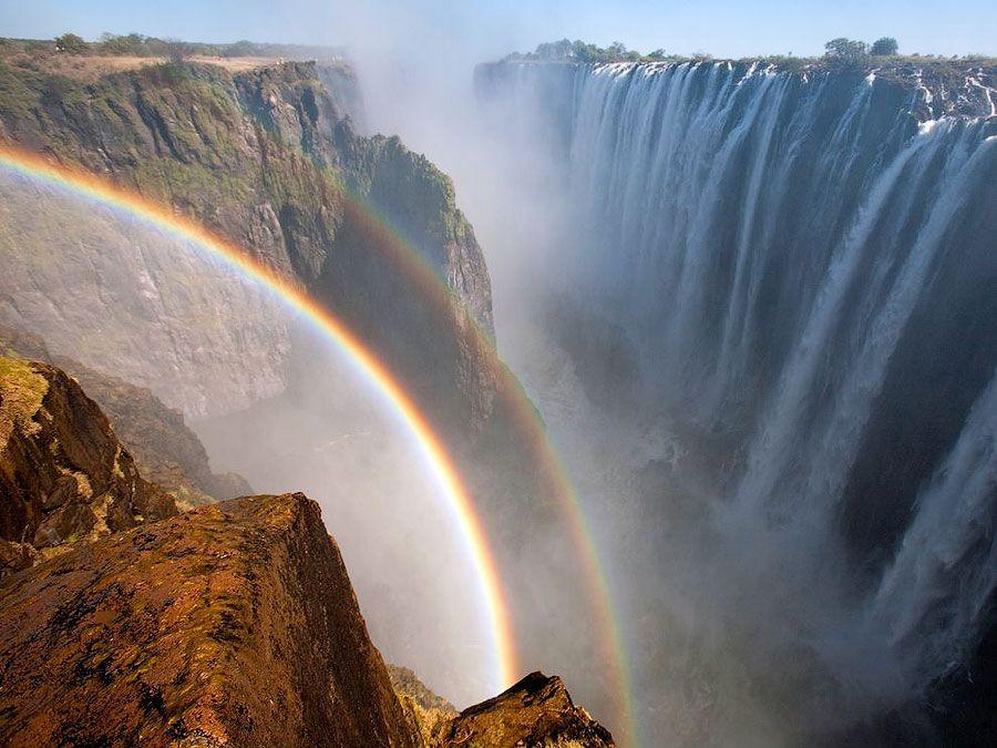 Cataratas Victoria III Las Cataratas Victoria: maravilla africana