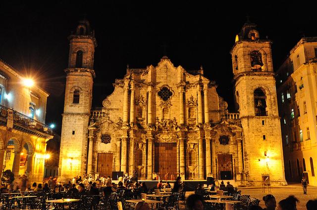 Plaza de la Catedral Conociendo La Habana Vieja