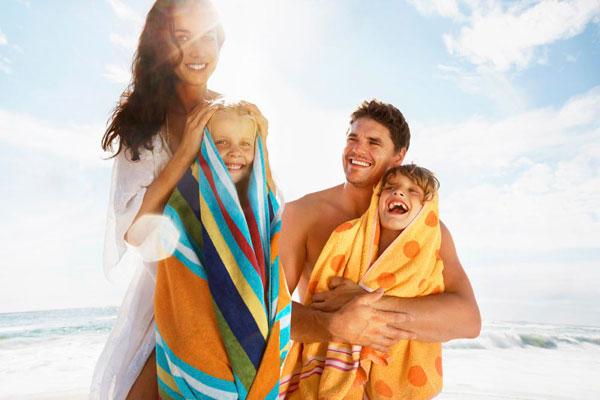 vaciones en la playa Vacaciones de julio en familia: disfrute de las mejores playas
