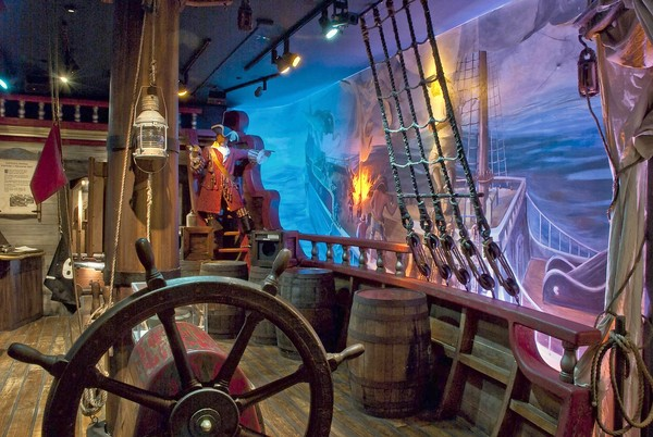 Museo del Pirata San Agustín la ciudad más española y antigua de USA