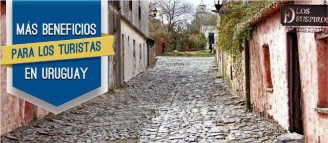 Beneficio para turistas Uruguay Beneficios para el turista en Uruguay